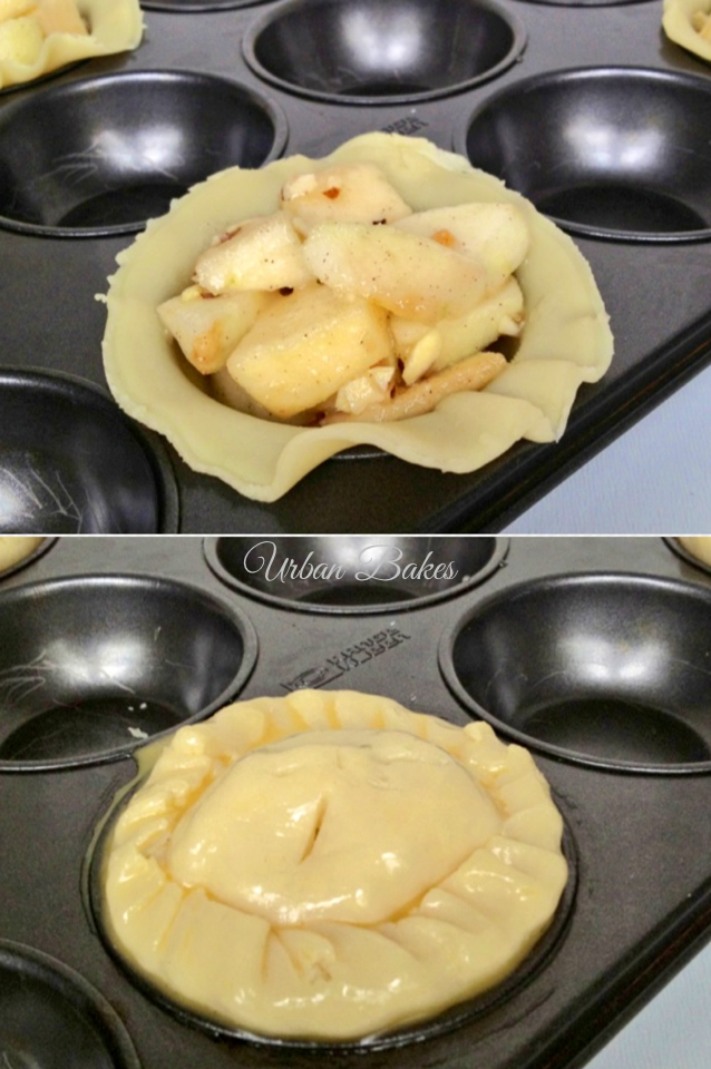 How to Make Easy Mini Apple Pies Muffins for Four | URBAN BAKES