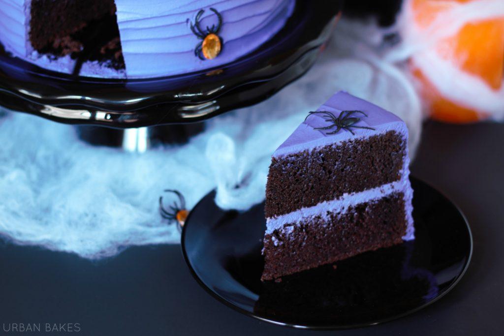 Spooky Spider Cake | URBAN BAKES
