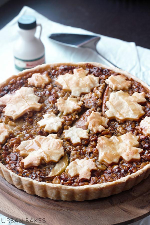 Maple Apple Walnut Tart | URBAN BAKES