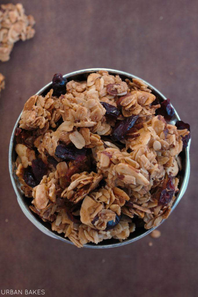 Maple Almond Granola | URBAN BAKES