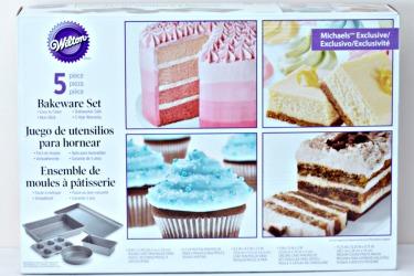 GIVEAWAY Wilton 5-piece Bakeware Set   URBAN BAKES