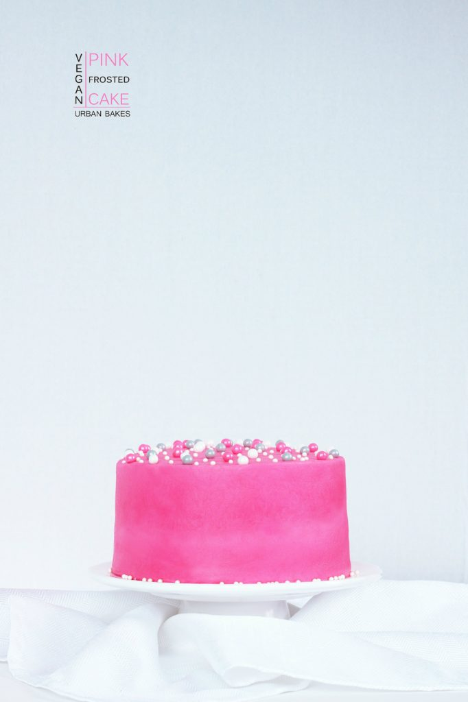 Vegan Chocolate Cake for My 1st Blogiversary   URBAN BAKES