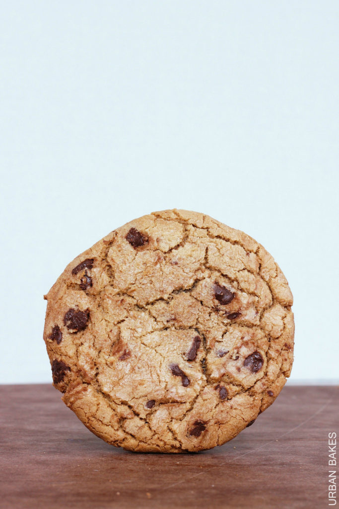 Browned Butter Chocolate Chip Cookie Sandwiches with Edible (Eggless) Cookie Dough | urbanbakes.com