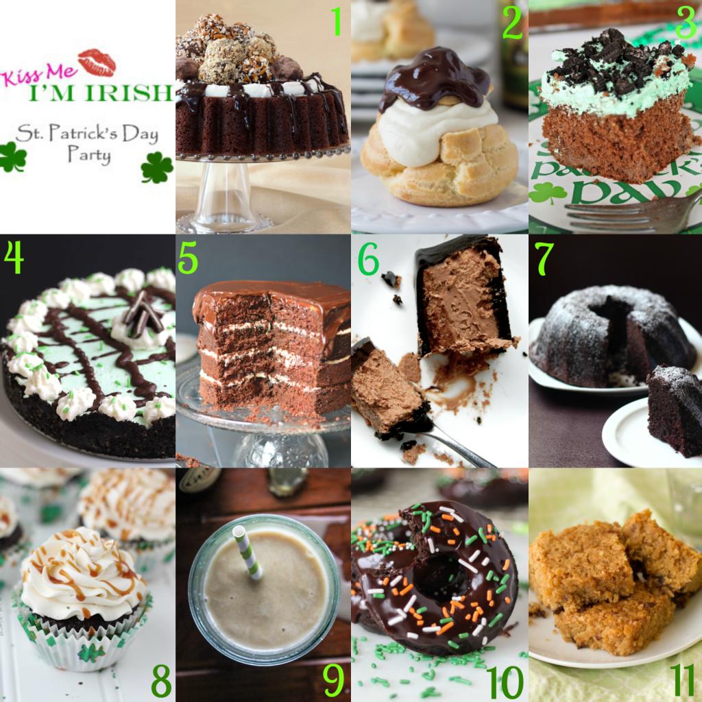 11 deliciously amazing Boozy St. Patrick's Day Party #KissMeImIrish | urbanbakes.com