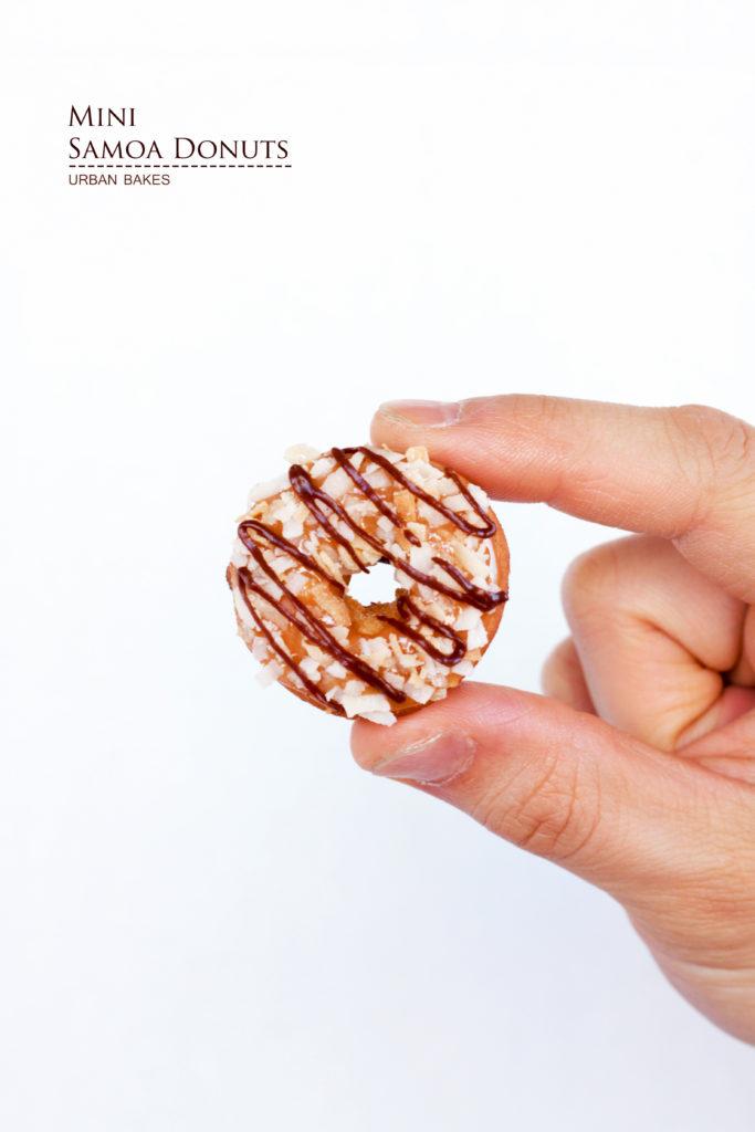 Mini Samoa Donuts | URBAN BAKES