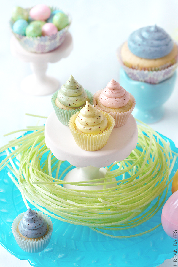 Speckled Easter Cupcakes | URBAN BAKES