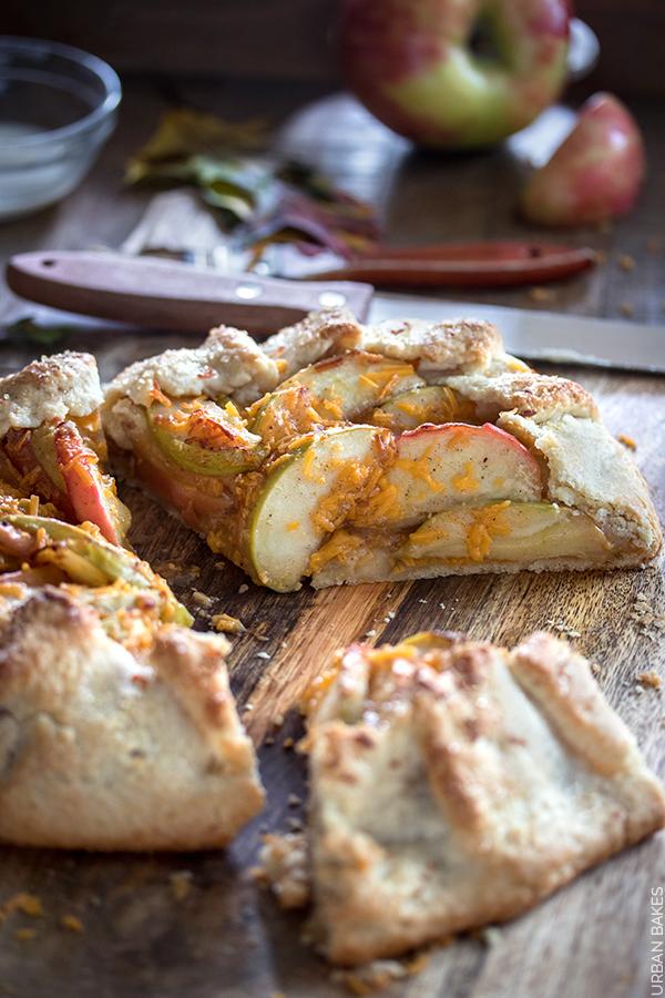 Apple Cheddar Crostata | URBAN BAKES