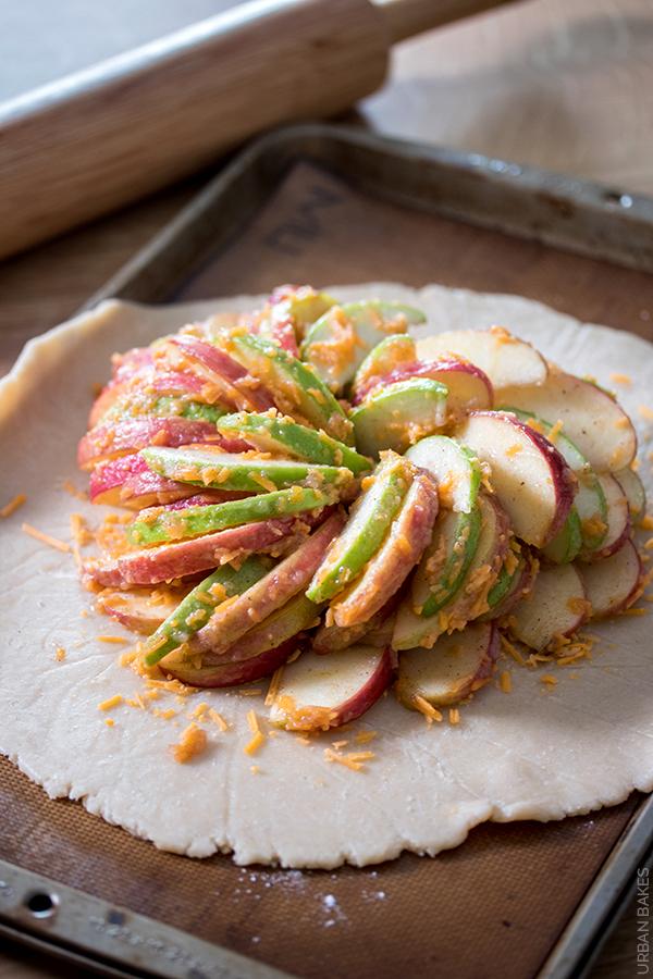 Prebaked Apple Cheddar Crostata | URBAN BAKES