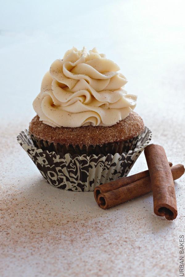 Snickerdoodle Cupcakes | urbanbakes.com