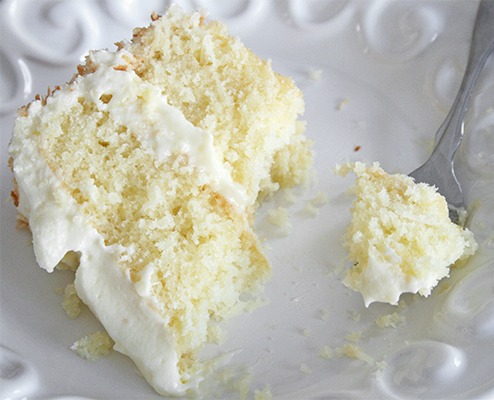 Coconut Layer Cake | guest post for URBAN BAKES