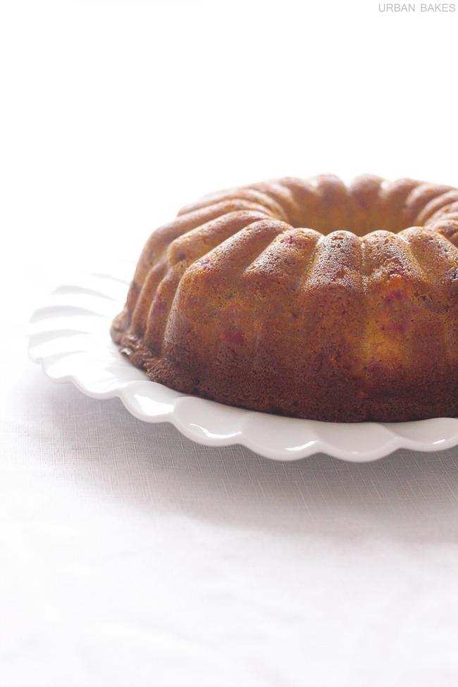 Cranberry Buttermilk Cake | URBAN BAKES