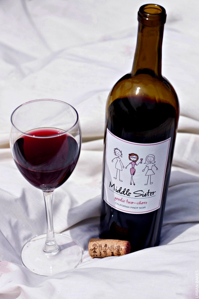 Middle Sister Wines - Goodie Two Shoes Pinot Noir   URBAN BAKES