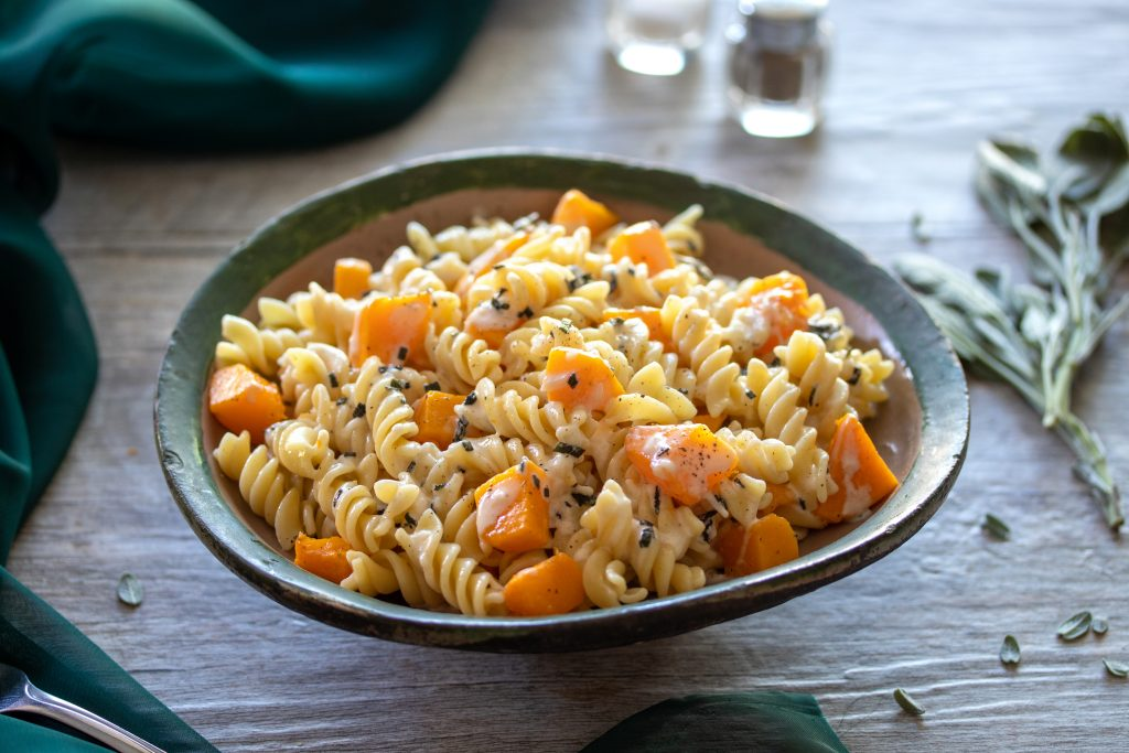 Butternut Squash Pasta with Parmesan Browned Butter and Sage   URBAN BAKES