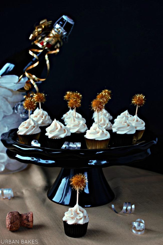 Champagne Cupcakes | URBAN BAKES