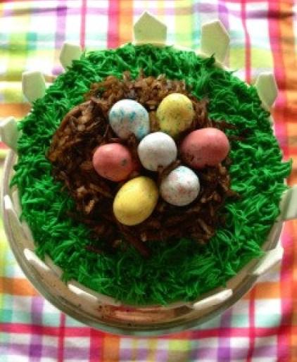 Easter Egg Nest Cake | URBAN BAKES