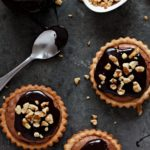 Mini Fudge Brownie Tarts | URBAN BAKES