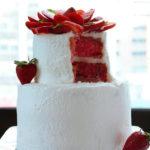 Simple Strawberry Cake | urbanbakes.com