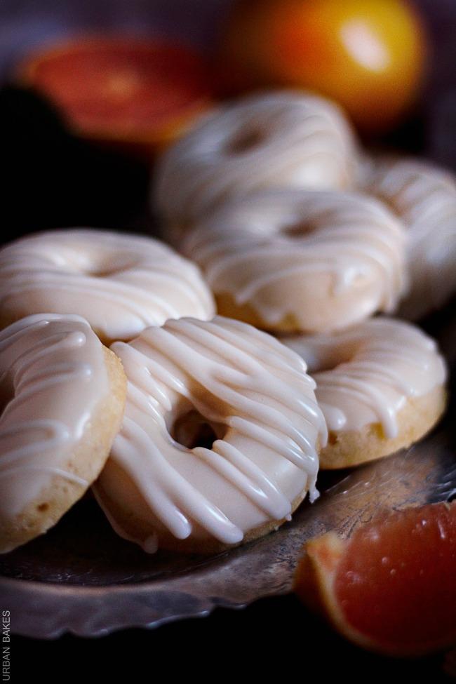 Baked Grapefruit Donuts   URBAN BAKES