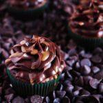 Banana and Caramel Filled Chocolate Chip Cupcakes | URBAN BAKES