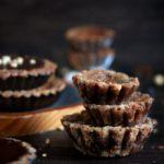 Mini Black Bottom Peanut Pies   URBAN BAKES