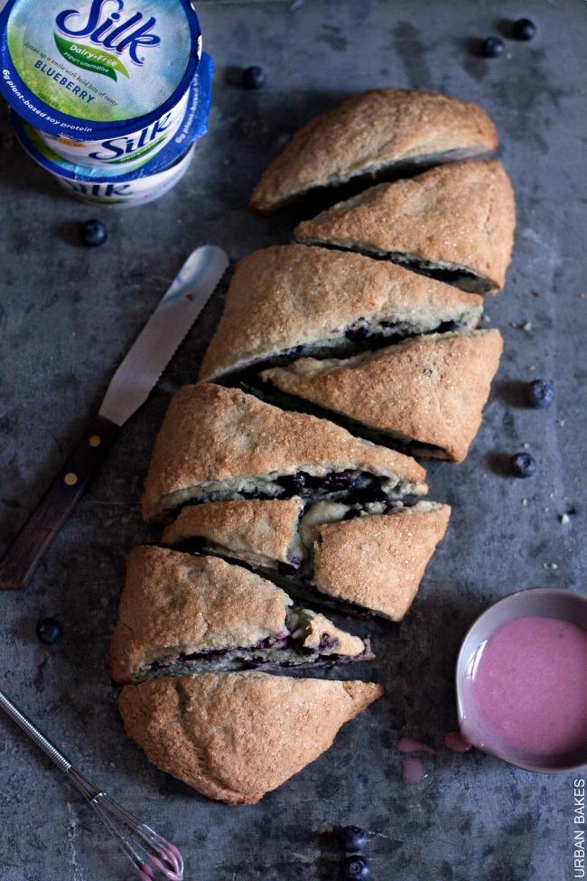 Vegan Blueberry Scones | URBAN BAKES