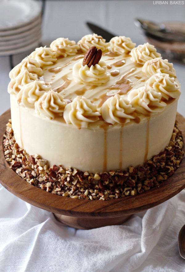 Bourbon Chocolate Cake | URBAN BAKES
