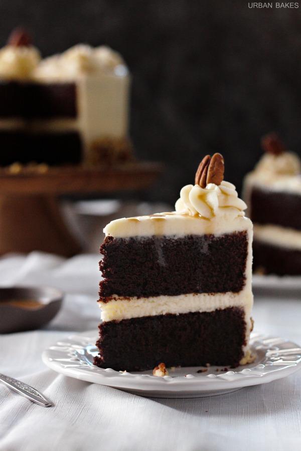Bourbon Chocolate Cake   URBAN BAKES