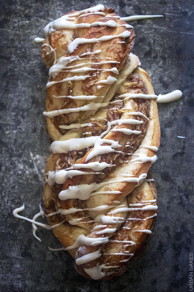 Cinnamon Apple Twist Bread | URBAN BAKES