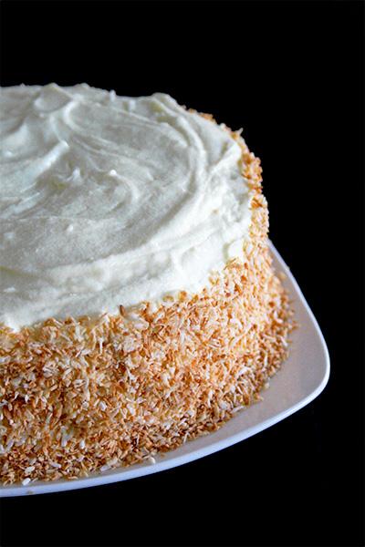 Coconut Layer Cake | URBAN BAKES