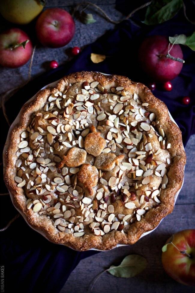Cranberry Almond Apple Pie | URBAN BAKES