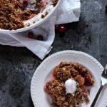 Cranberry Apple Crisp | urbanbakes.com