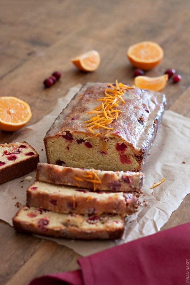 Cranberry Citrus Pound Cake   URBAN BAKES