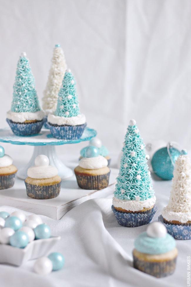 Eggnog Winter Wonderland Cupcakes | URBAN BAKES