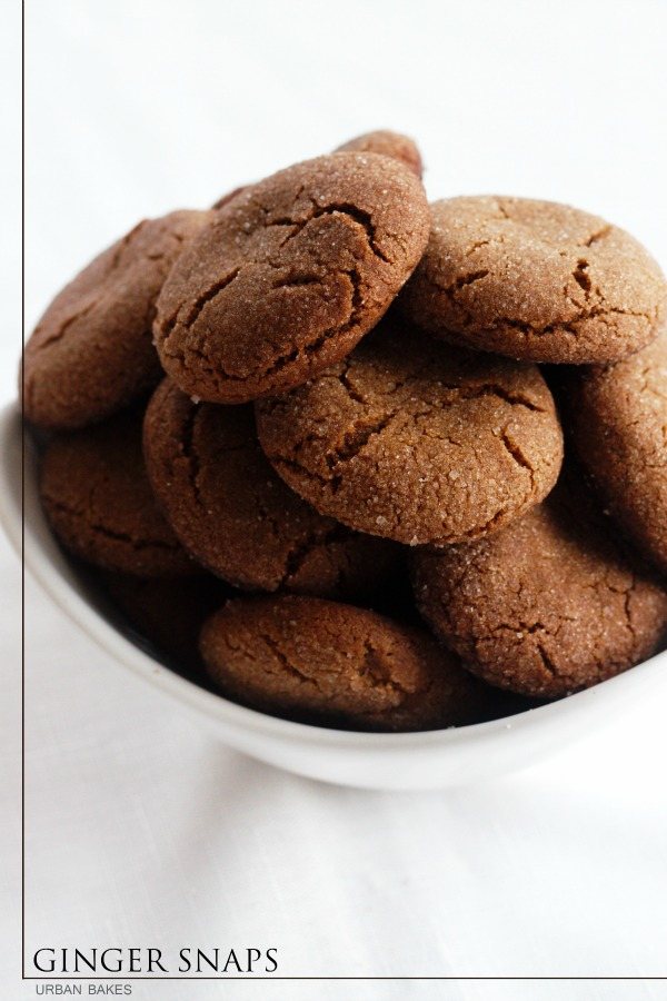 """These gingersnaps have been given an extra """"snap"""" of flavor with the addition of peppery spices. Slightly softer than most store bought versions. 
