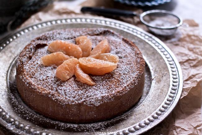 Grapefruit Curd Filled Cake | URBAN BAKES
