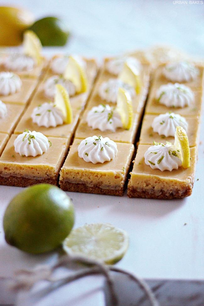 Lemon Lime Bars   URBAN BAKES