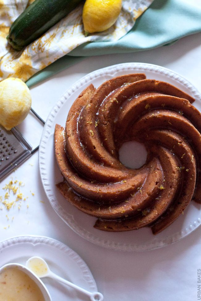 Deliciously tender and rich Lemon Zucchini Pound Cake   URBAN BAKES