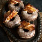 Maple Bourbon Bacon Chocolate Doughnuts (Donuts) | URBAN BAKES