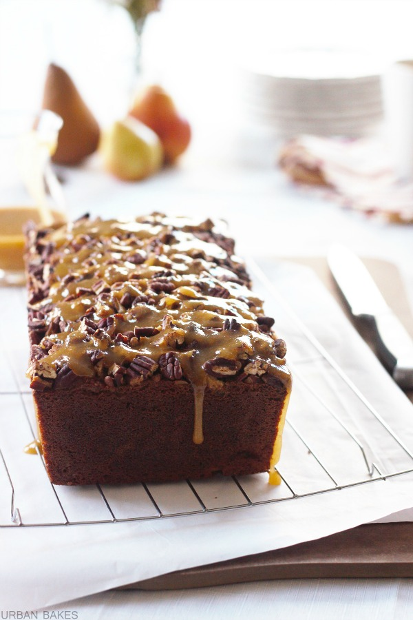Praline Pear Bread | URBAN BAKES