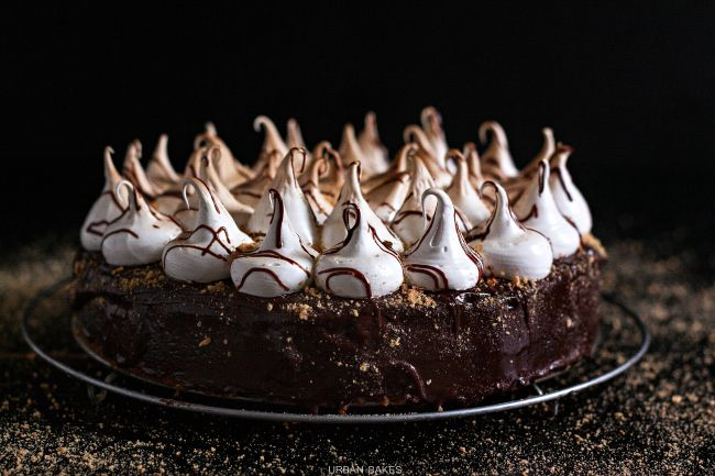 THE Best S'mores Cake | URBAN BAKES