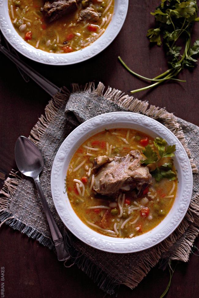 Sopa de Menestrón aka Latin Style Minestrone Soup | URBAN BAKES