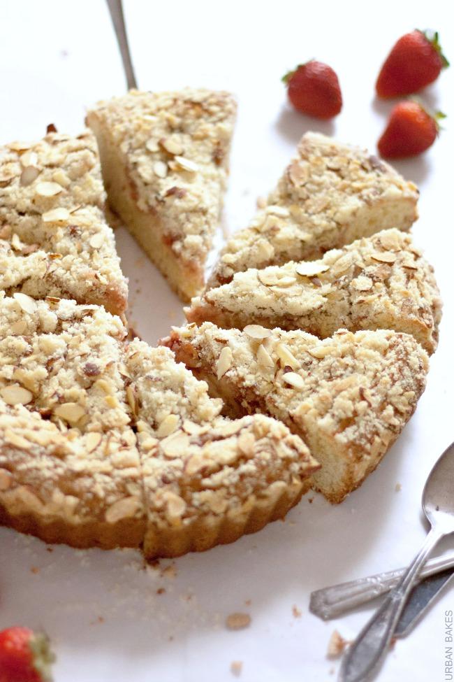 Strawberry Cream Brunch Cake | URBAN BAKES