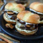 Truffle Mushroom and Swiss Sliders | URBAN BAKES