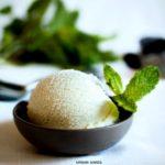 Vanilla Mint Ice Cream | URBAN BAKES