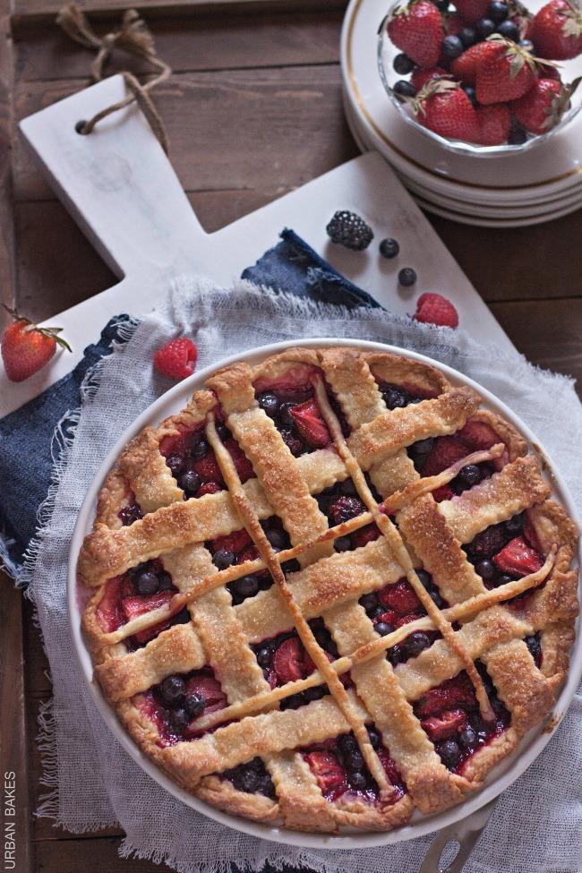 Very Berry Pie   URBAN BAKES