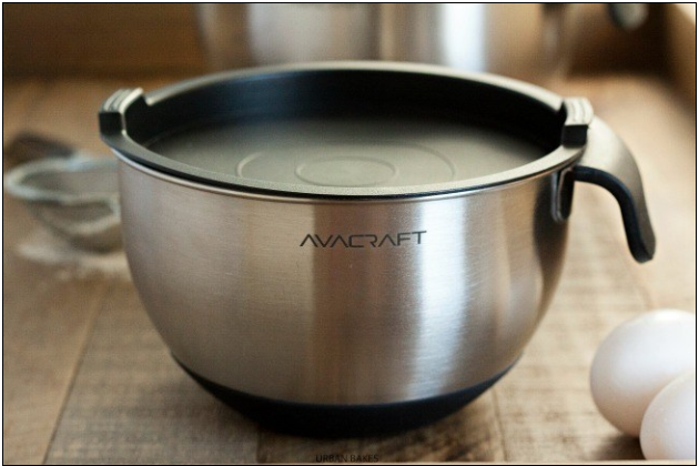 Avacraft Stainless Steel Mixing Bowls | URBAN BAKES