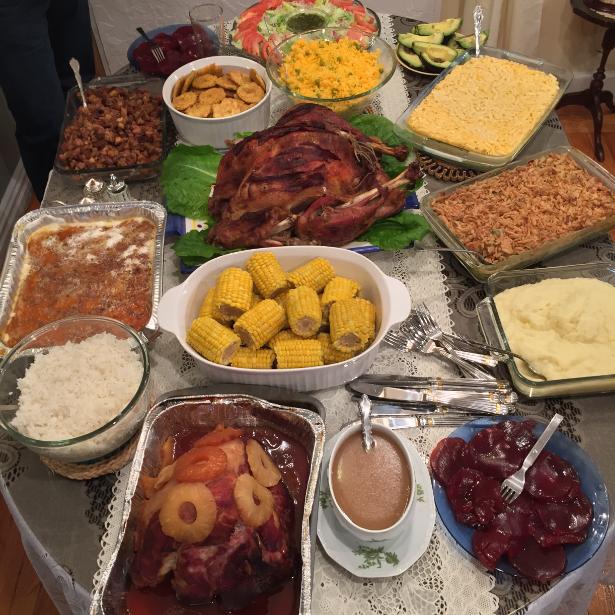 Thanksgiving Dinner 2014