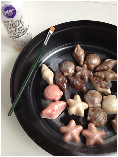 How to make Edible Candy Seashells | URBAN BAKES