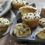 Chocolate Chip and Oat Zucchini Muffins made with Sour Cream   URBAN BAKES