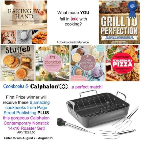 Cookbooks and Caphalon GIVEAWAY | URBAN BAKES